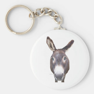 Donkey In Your Face Key Ring