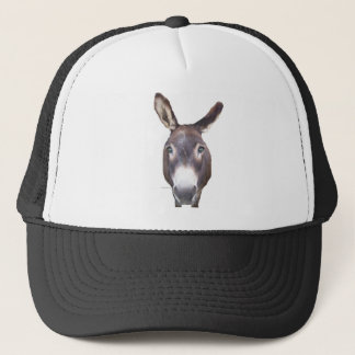 Donkey In Your Face Trucker Hat