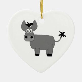 Donkey.jpg Christmas Ornament