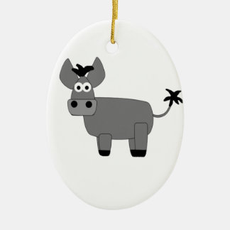 Donkey.jpg Christmas Ornament