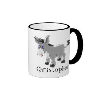 Donkey Just Add Name Ringer Mug