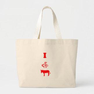 Donkey Large Tote Bag