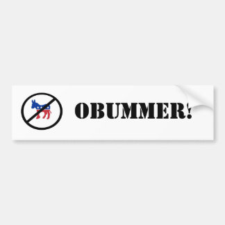 Donkey OBUMMER! Sticker Bumper Sticker
