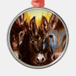 Donkey of the BLM Christmas Ornament