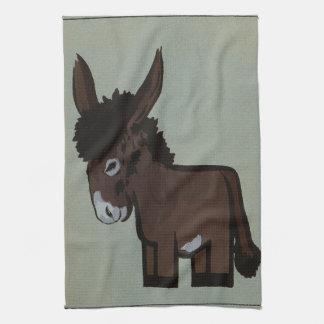 Donkey or Burro Template Tea Towel