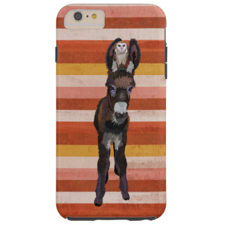 DONKEY & OWL STRIPES TOUGH iPhone 6 PLUS CASE
