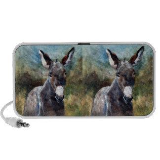 Donkey Portrait iPod Speakers