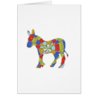 Donkey Rock - American Elections Votes 2012 Greeting Card
