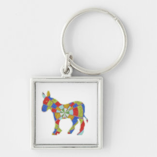 Donkey Rock - American Elections Votes 2012 Keychains