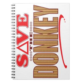 Donkey Save Notebooks