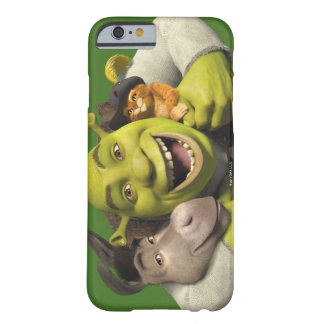Donkey, Shrek, And Puss In Boots Barely There iPhone 6 Case