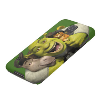 Donkey, Shrek, And Puss In Boots Case For Galaxy S5