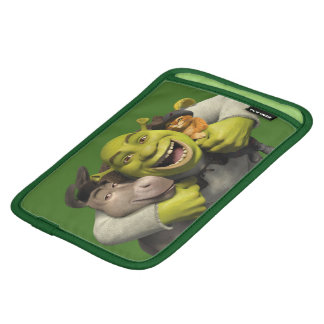 Donkey, Shrek, And Puss In Boots iPad Mini Sleeve