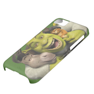 Donkey, Shrek, And Puss In Boots iPhone 5C Case