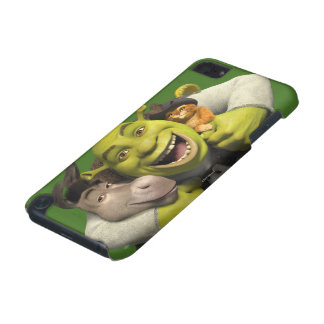 Donkey, Shrek, And Puss In Boots iPod Touch (5th Generation) Cases