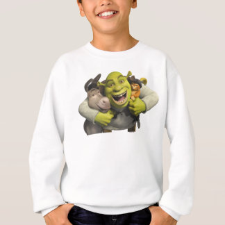Donkey, Shrek, And Puss In Boots Sweatshirt