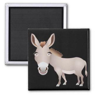 Donkey Square Magnet