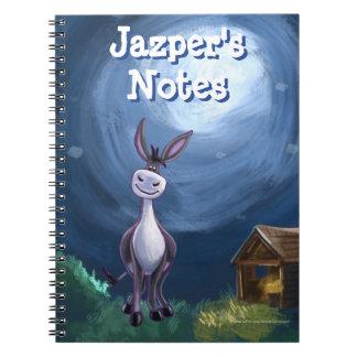 Donkey Stationery Spiral Notebook