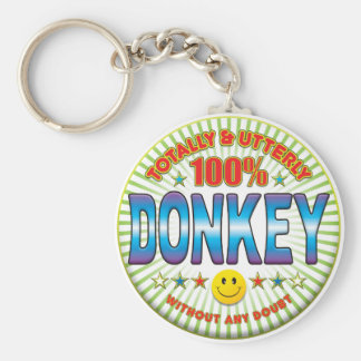 Donkey Totally Key Ring
