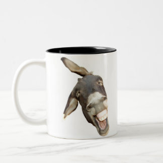 DONKEY! Two-Tone COFFEE MUG