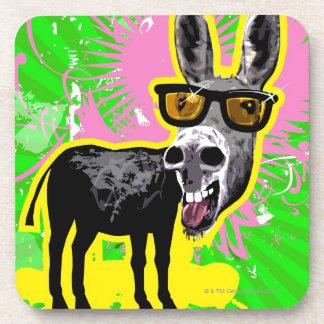 Donkey Wearing Sunglasses Coaster