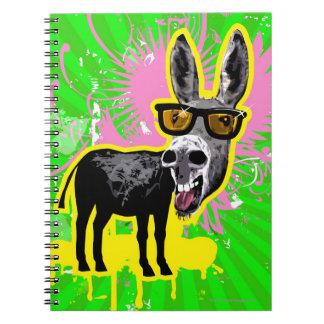 Donkey Wearing Sunglasses Notebooks