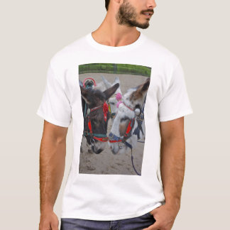 Donkeys at the Seaside  Tee shirt