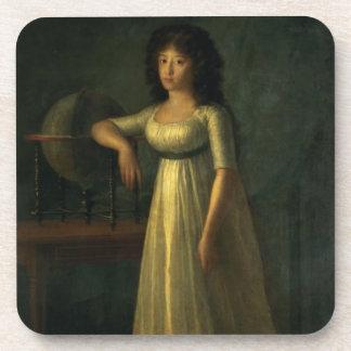 Donna Joaquina Tellez-Giron, daughter of the Duke Drink Coaster