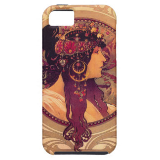 Donna Orechini by Alphonse Mucha iPhone 5 Cases