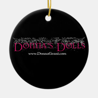 Donna's Dolls Christmas Ornament