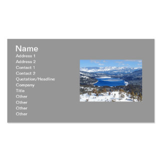 Donner Lake Business Card