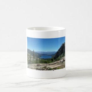 Donner Lake, CA Basic White Mug