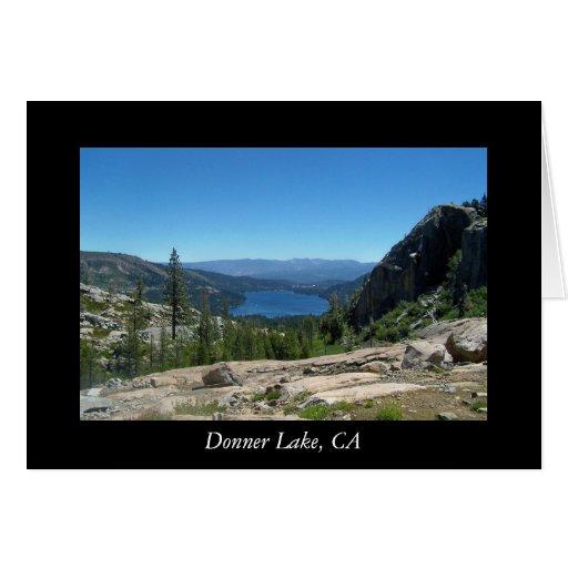 Donner Lake, CA Greeting Cards