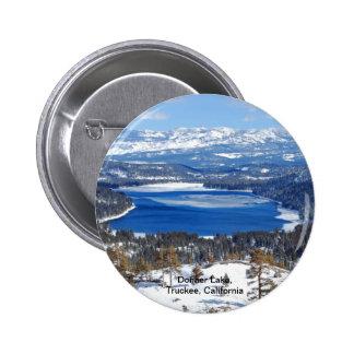 Donner Lake California Button