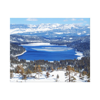 Donner Lake California Canvas Gallery Wrapped Canvas