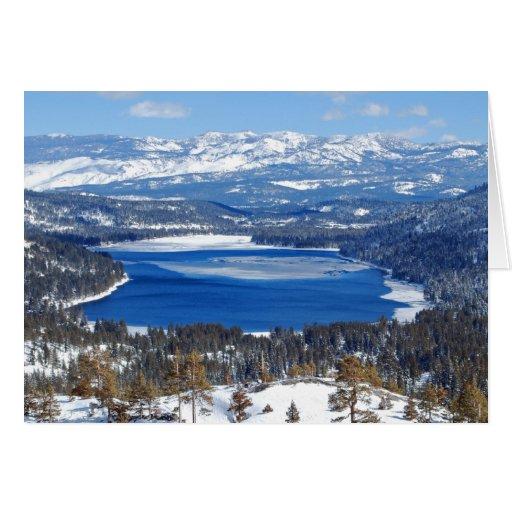 Donner Lake California Card