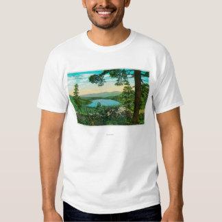 Donner Lake, California from Ridge T-shirts