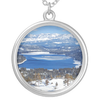 Donner Lake California Necklace