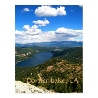 Donner Lake, California Postcard