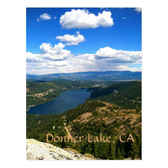 Donner Lake, California Postcard