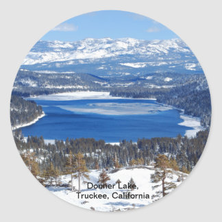 Donner Lake California Stickers