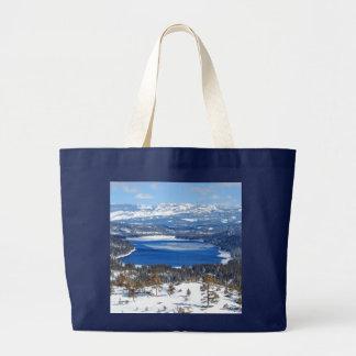 Donner Lake California Tote Bag