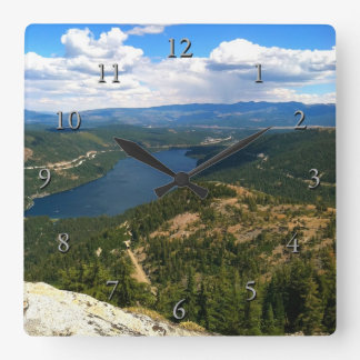 Donner Lake, California Wall Clocks