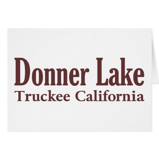 Donner Lake Card