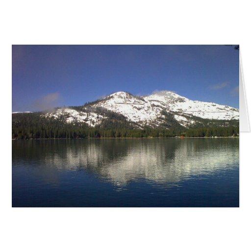 Donner Lake Notecard (blank) Greeting Cards