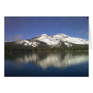 Donner Lake Notecard (blank) Note Card