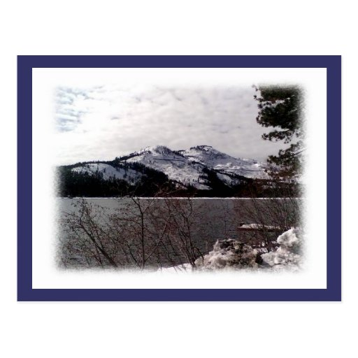 DONNER LAKE-POST CARD