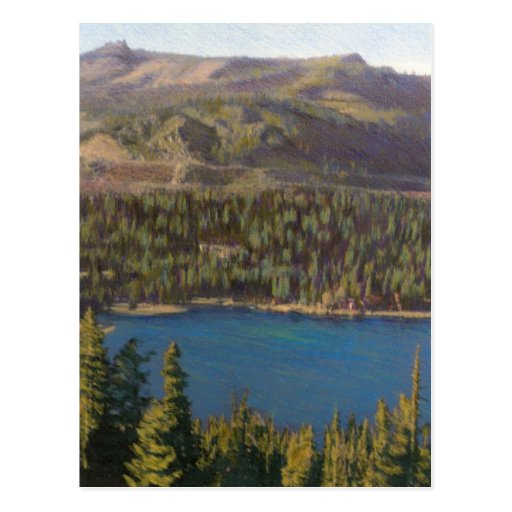 Donner Lake Postcard