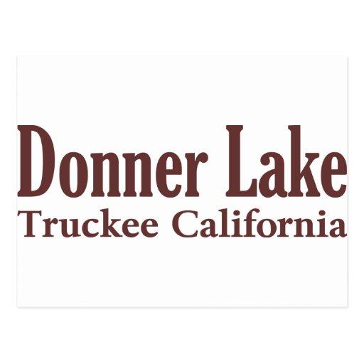 Donner Lake Post Card