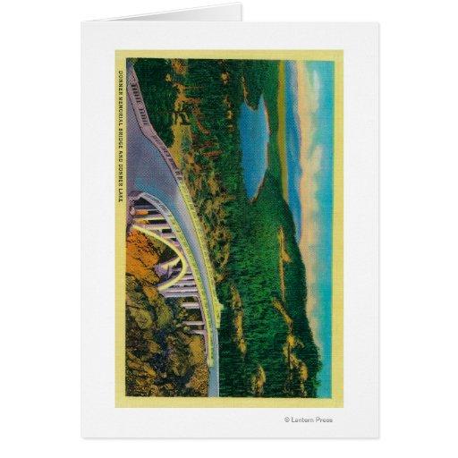 Donner Memorial Bridge and Greeting Card